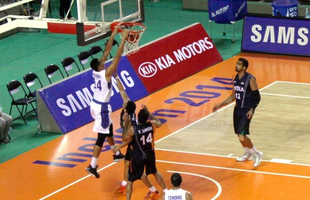 Gilas begins Asian Games campaign with close win over hot-shooting India side