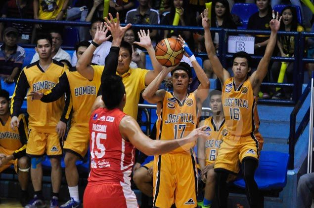 JRU Bombers regain share of fourth place, deal San Beda Red Lions second straight loss