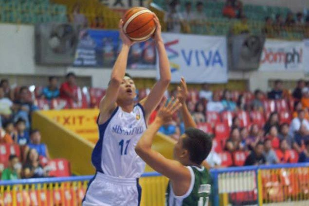 Magis Eagles down Baby Warriors for seventh straight win in Cesafi juniors
