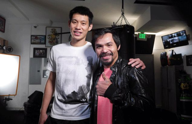 Pacquiao praises Jeremy Lin for being a 'good example' after NBA star's visit to training camp