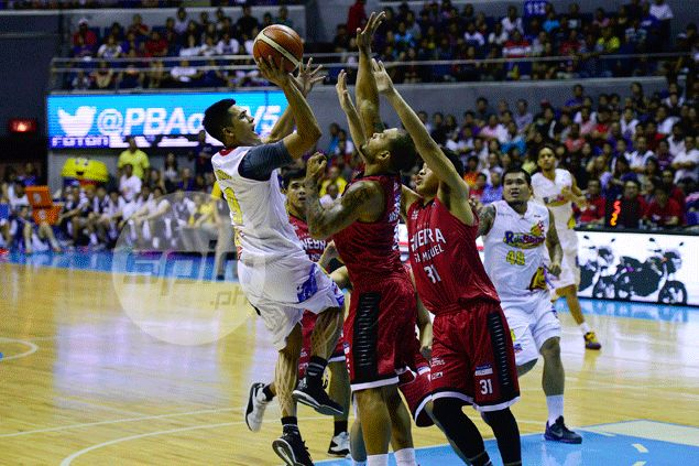 RoS sends Ginebra crashing back to earth with emphatic win, forces three-way tie for lead