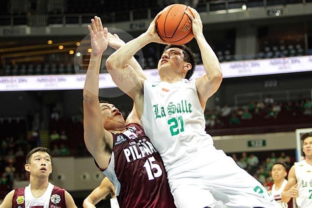Vosotros regains shooting touch as De La Salle routs UP Maroons for seventh successive win