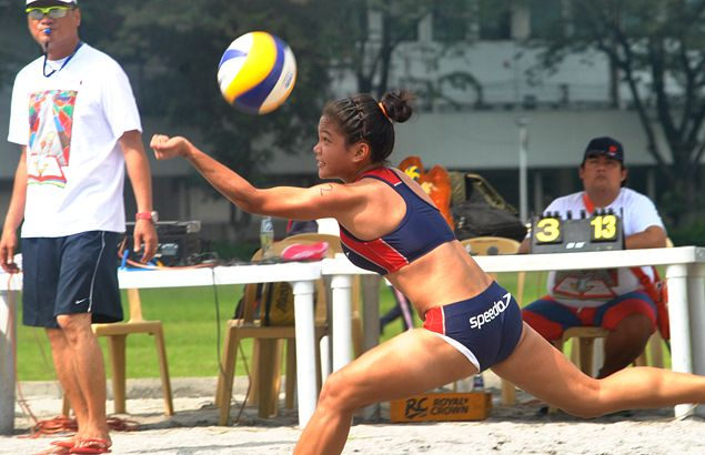 Pangasinan spikers go 2-0 in Petron beach volley meet