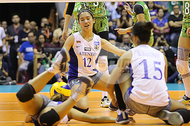 Injured Jia Morado to keep playing through pain as Lady Eagles look to force decider