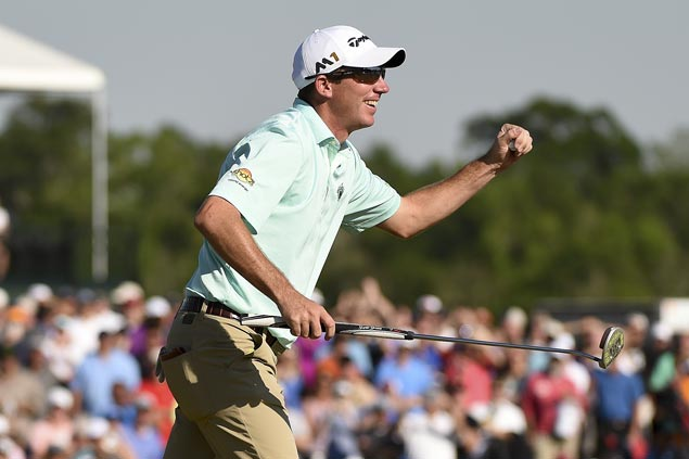 Jim Herman one shot short from tying course record but opens with two stroke lead at Innisbrook