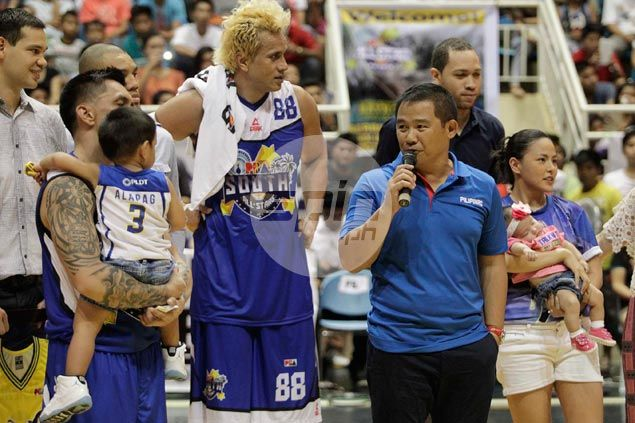 Chot Reyes laughs off rumors he's planning a return to coaching by way of NLEX