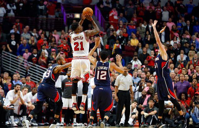 Bulls gunner Jimmy Butler claims he beat great Michael Jordan in shooting contest