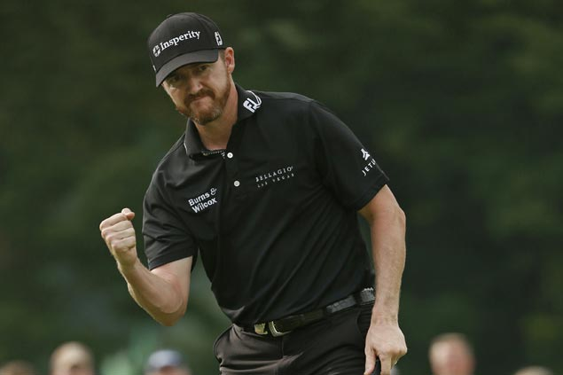 Jimmy Walker holds nerve to edge Jason Day and take title after marathon final day at PGA Championship