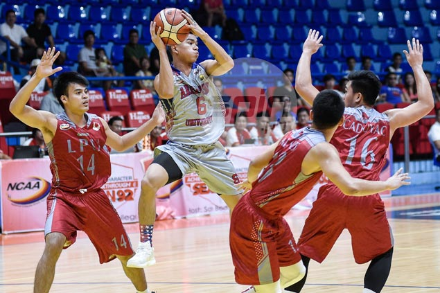 Arellano Chiefs manage slim win over Lyceum Pirates to grab share of second in NCAA 92