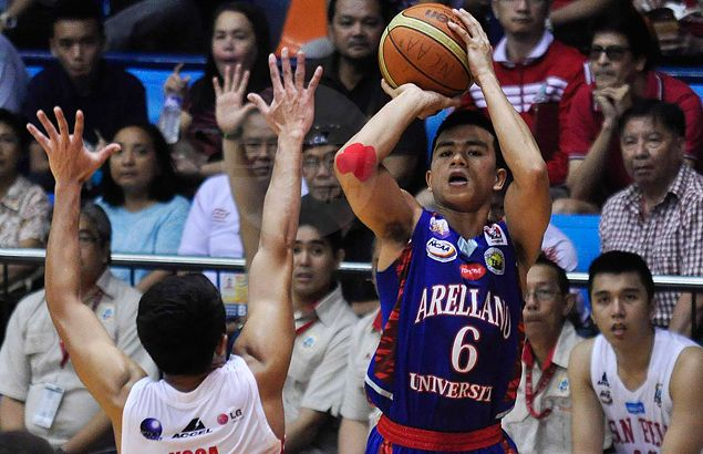Arellano's Jalalon vows to stop Red Lions top gun Baser Amer - and stay out of foul trouble