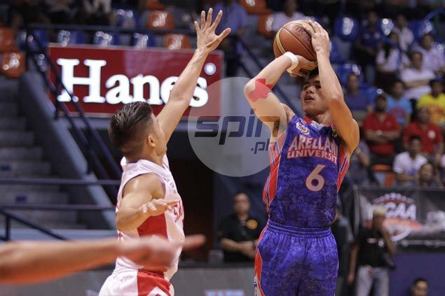 Arellano Chiefs boost semifinal hopes with big win over fading San Beda Red Lions