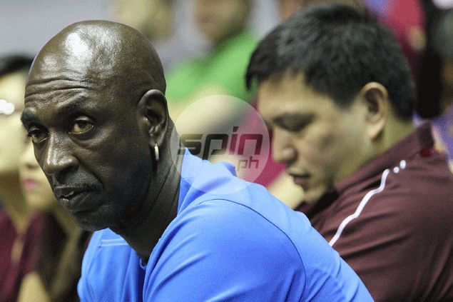 Former Ginebra skills coach Joe Ward trains two big men as UP Maroons build for the future