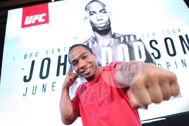 UFC returning to Manila in October, but Fil-Am John Dodson mum on whether he'll be part of fight card