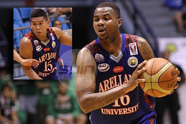 Arellano rookie big man Dioncee Holts thankful for 'Superman' Nard Pinto's heroics