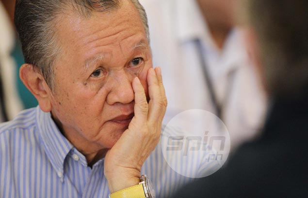 Peping Cojuangco insists nothing political with disqualification of POC rival Ricky Vargas