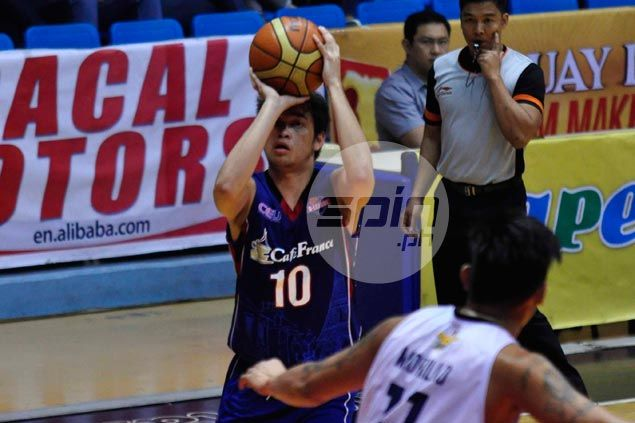Celso steps up as undermanned Cafe France overpowers also-ran Wangs Basketball