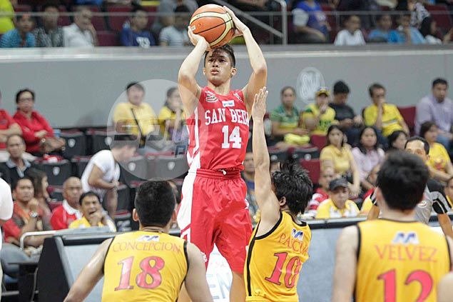 San Beda assessing Red Cubs stars, Team B players after Andrei Caracut leaves for La Salle