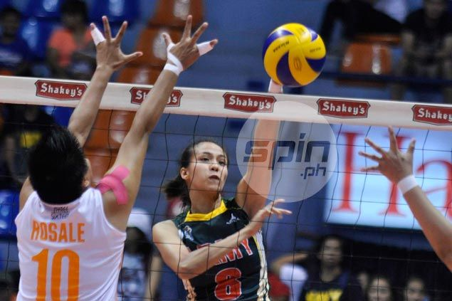 Jovelyn Gonzaga tows Army past Coast Guard and into V-League semifinals