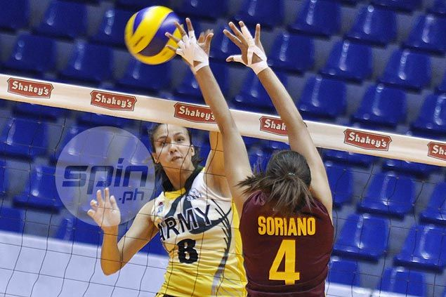 Jovelyn Gonzaga leads way as Army whips Cagayan Valley in V-League
