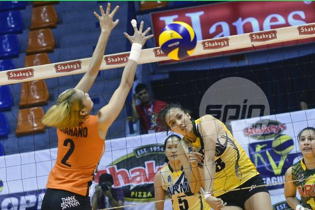 Jovelyn Gonzaga powers Army over Meralco in first match of V-League round-robin semis