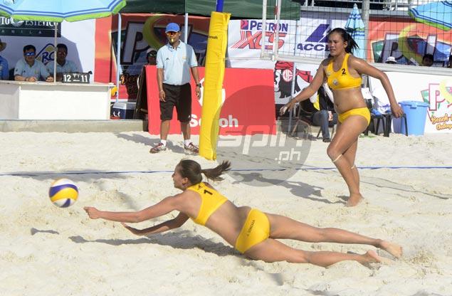 Jovelyn Gonzaga, Nene Bautista set up PSL beach title showdown with Cherry Rondina, Patty Orendain