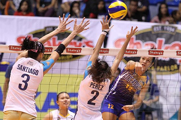 Joy Cases shows way as Air Force stops National U in straight sets in V-League