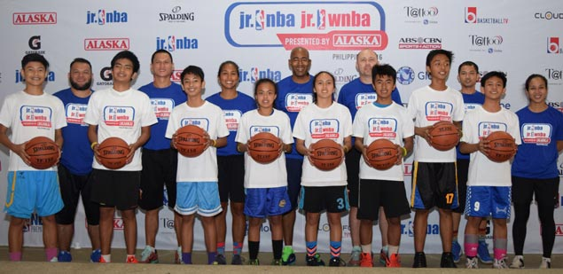 Eight standouts at Baguio clinics earn spots in National Training Camp of Jr NBA/WNBA