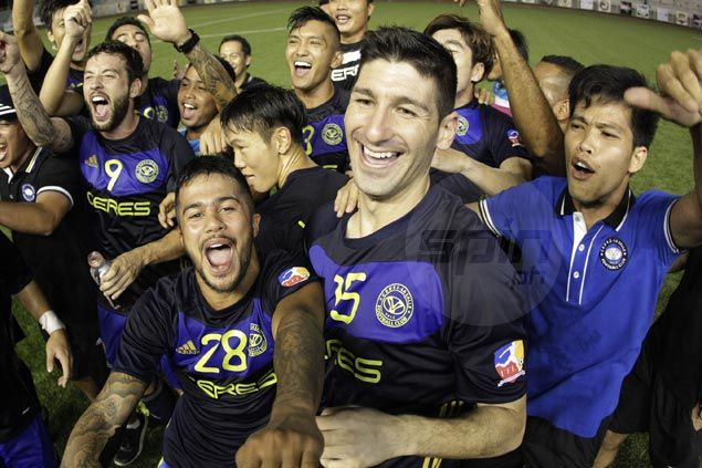 With club commitments done, Ceres-La Salle's Azkals shift focus to national duty