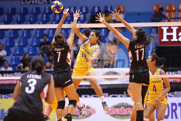 Air Force bucks slow start to score straight-sets win over Iriga and march on to V-League semis