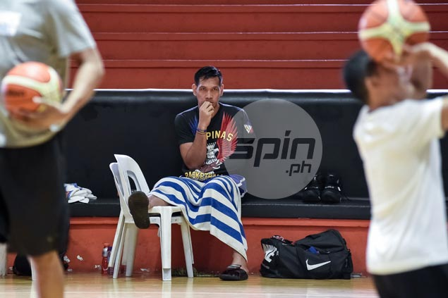 Now it's June Mar Fajardo's turn to sit out Gilas training due to injury