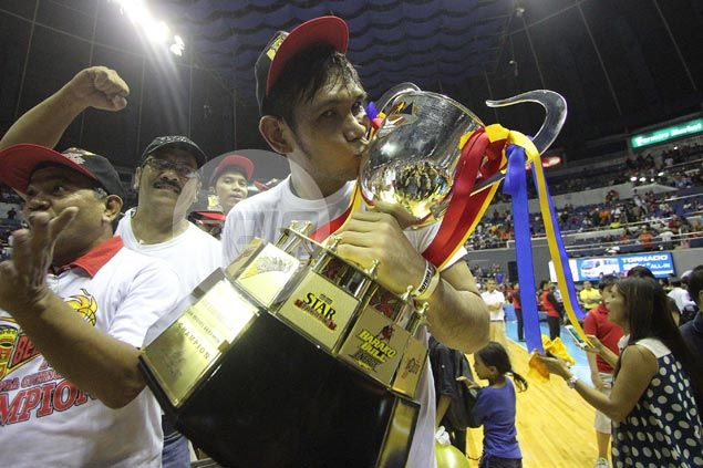 Late bloomer June Mar Fajardo says growing trophy collection a product of plain hard work