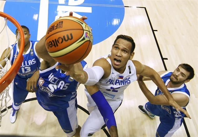 Tall, disciplined Greece proves a tough nut to crack for Gilas Pilipinas in Fiba World Cup