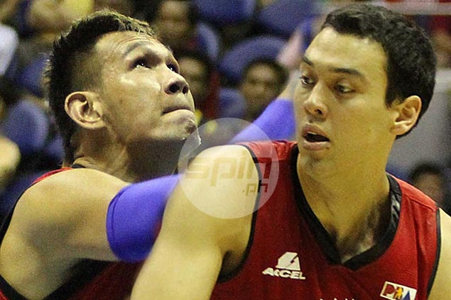 Slaughter, Fajardo renew rivalry as Barangay Ginebra clashes with San Miguel Beer
