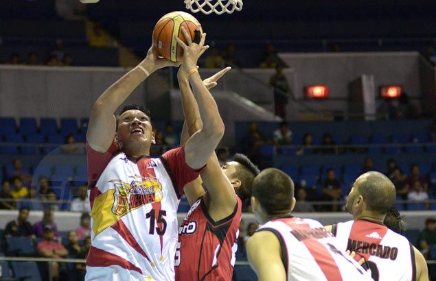 San Miguel gets share of lead as hapless KIA simply has no answer for Fajardo
