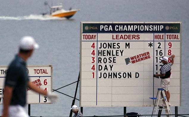Plenty of action on moving day at the PGA Championship
