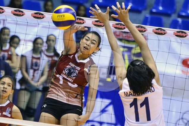 Rookies Justine Dorog, Isa Molde lead way as UP sinks Navy in opener of V-League battle for third