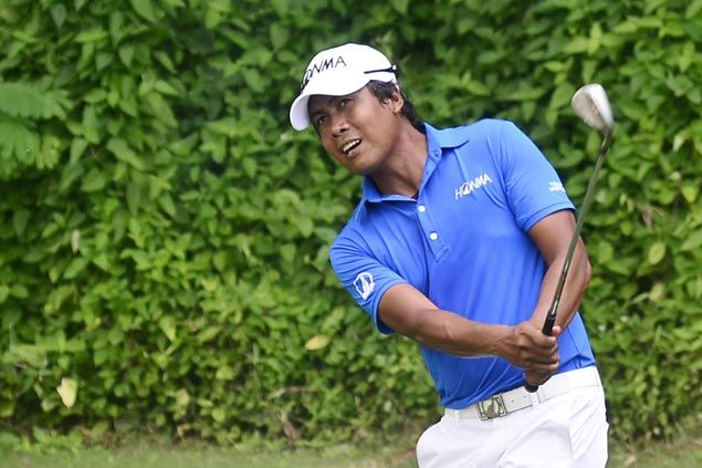 Juvic Pagunsan joint third, three strokes off pace entering final round in Japan