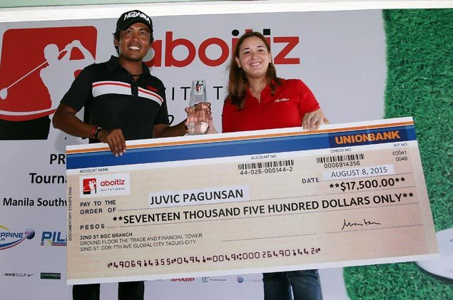 Juvic Pagunsan tames Southwoods, wins ADT's Aboitiz Invitational by eight strokes