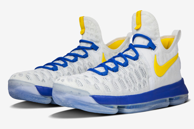 Nike shows Kevin Durant's true colors with new Warriors-inspired KD9 releases