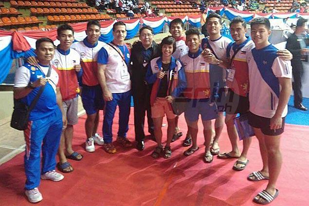 Loue Jane Remojo, Rita Alexis Cuadra bag gold medals in Thailand Open karatedo championships
