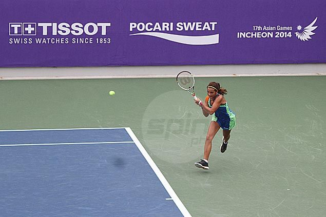 Lehnert, Dy bow out early from Asiad women's tennis team event; Treat Huey and men's squad also fall by the wayside