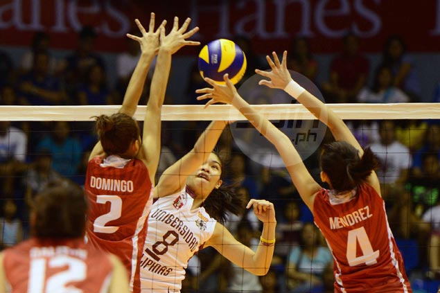 UP Lady Maroons make quick work of UE Lady Warriors in UAAP women's volleyball opener
