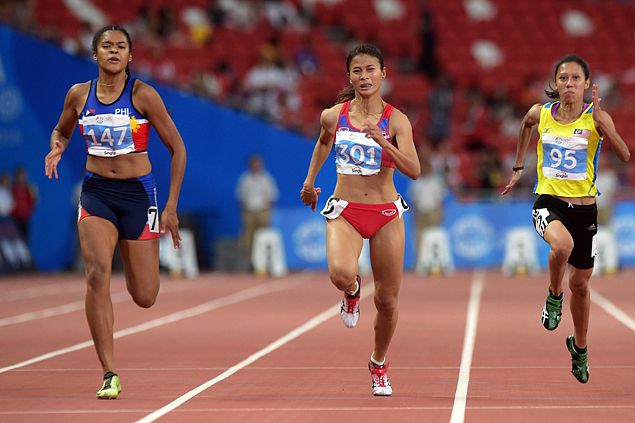 Kayla Richardson, Eric Cray complete rare sprint double for PH in SEA Games