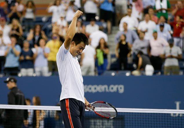Kei Nishikori becomes first Japanese Grand Slam semifinalist since 1933