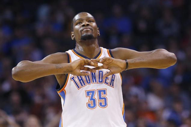 Kevin Durant advice to targets of 'Hack-a' strategy: 'Work on your 'f_____ free throws'