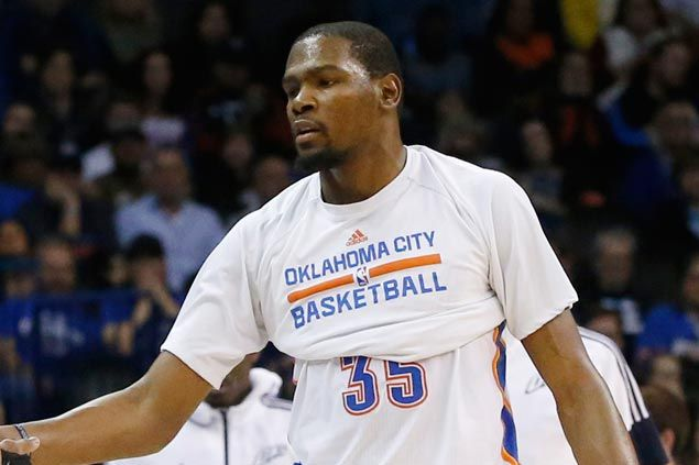 Durant out against Knicks with toe injury