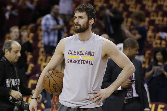 Cavs yet to release result of Kevin Love knee scan, reportedly seeking second opinion