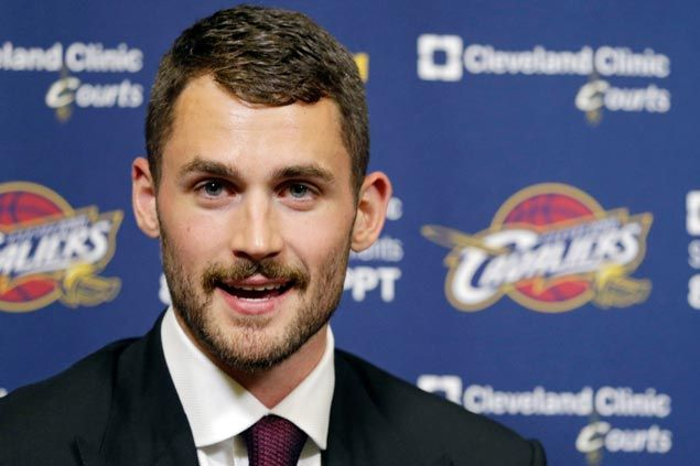 Cleveland lovestruck as new star Kevin says he's with Cavaliers for the long haul