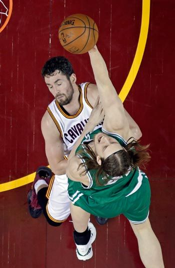 Celtics center Kelly Olynyk handed one-game ban, Cavaliers guard J.R. Smith suspended for two matches
