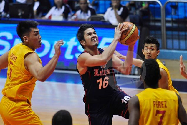 Letran Knights keep Final Four hopes alive with squeaker over San Sebastian Stags